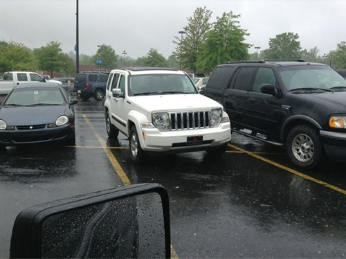 Three Parking FAILs for One Picture!