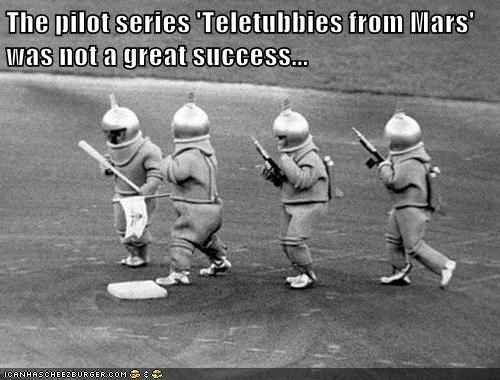 Teletubbies from Mars