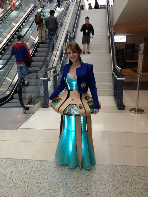 cosplay,fandom,tardis,doctor who
