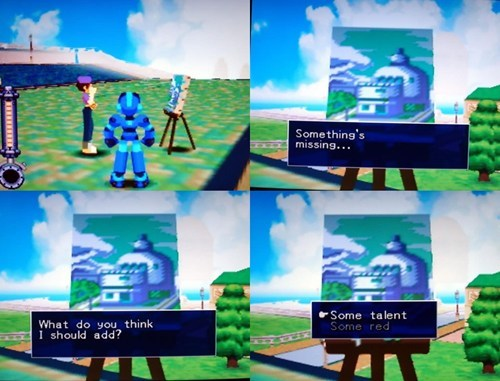 Mega Man Tells it Like it Is