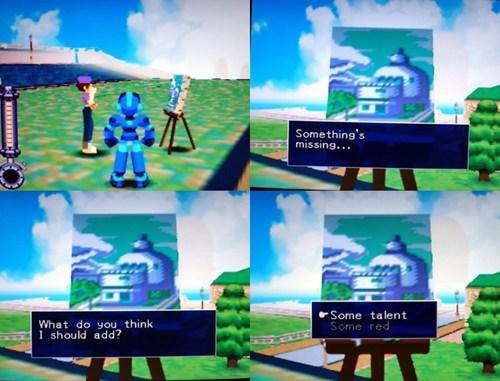 Mega Man Tells it Like it Is