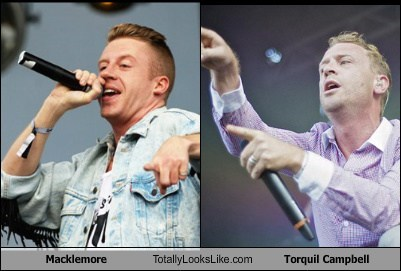Macklemore Totally Looks Like Torquil Campbell