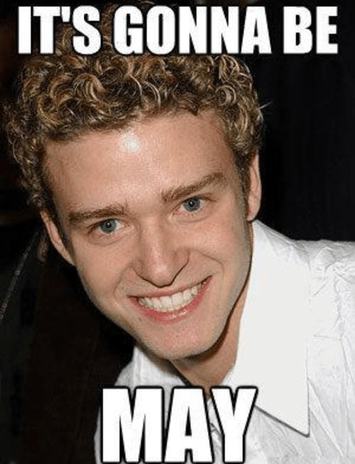 may,nsync,Justin Timberlake