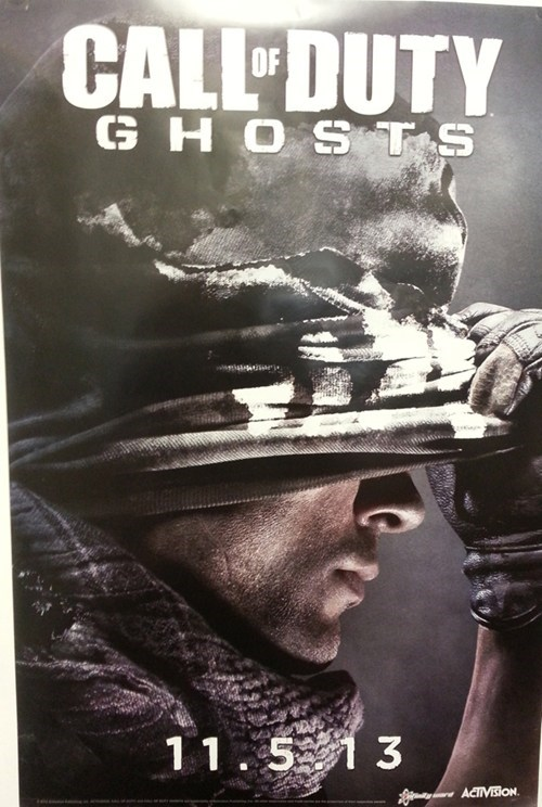 Call of Duty: Ghosts Title and Release Date Confirmed