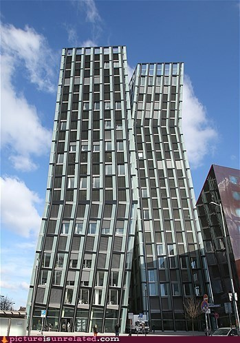 The Dancing Towers in Hamburg, Germany