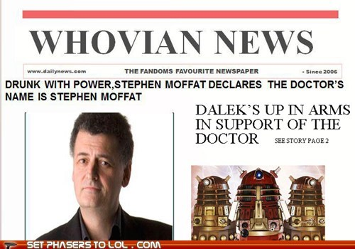 Moffat To Take on the Daleks? Page 3
