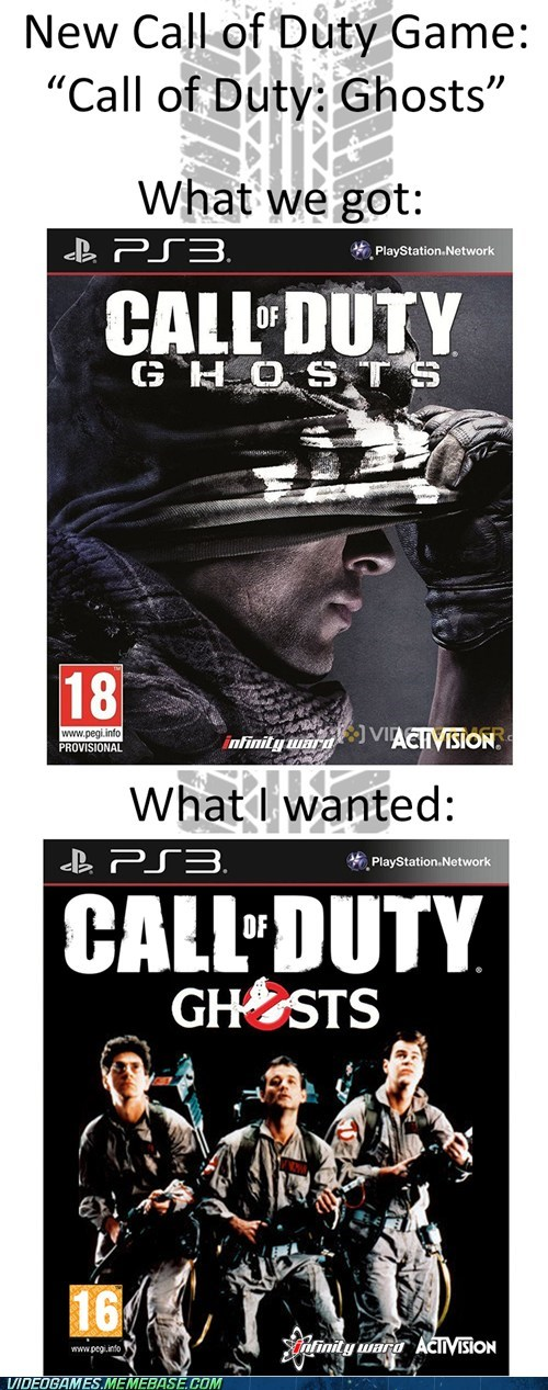 Call of Duty - Ghosts?