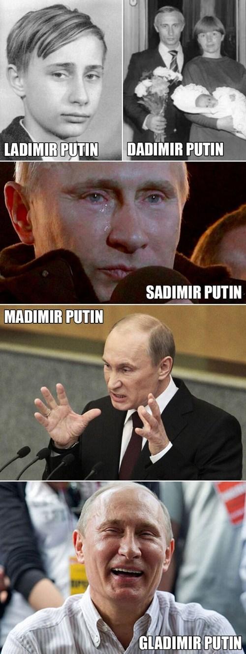 All The Putin Puns