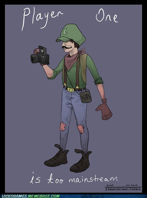 Hipster Mario Brothers