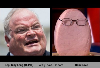 Rep. Billy Long (R-MO) Totally Looks Like Ham Rove
