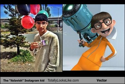 The Itslavish Instagram Kid Totally Looks Like Vector