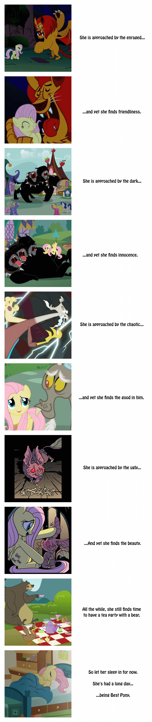 Fluttershy is Good With Everyone
