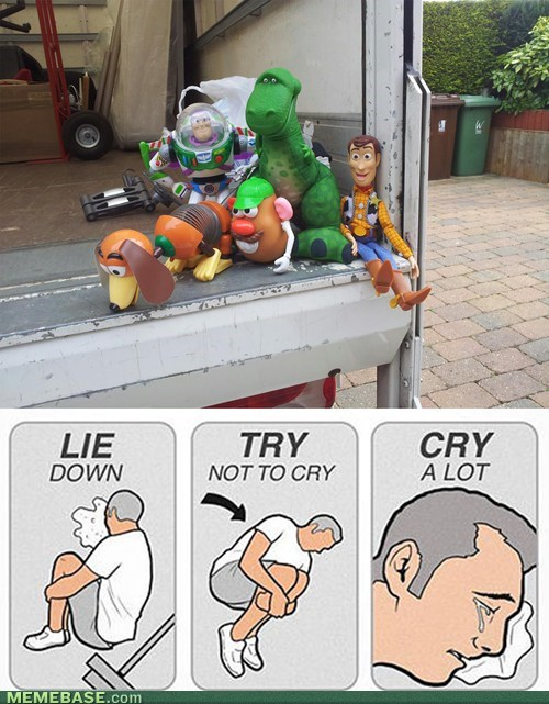 try not to cry,toy story,toys