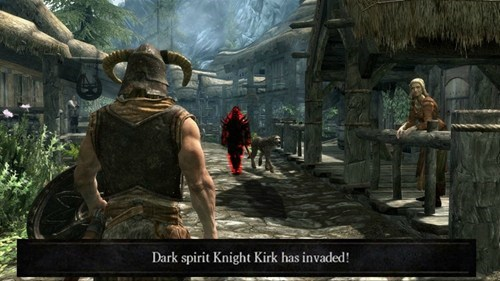 What if You Could Invade Other People's Games in Skyrim?