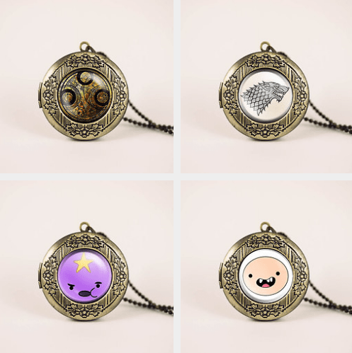 Lovely Fandom Lockets