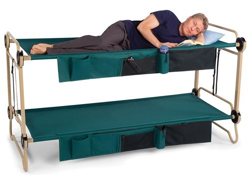 Twice the Bed in One Camping-Ready Product!