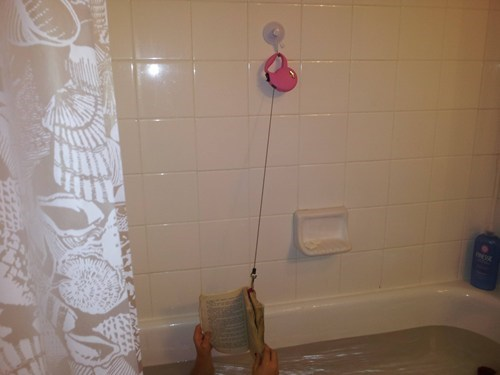 This Genius Invention Makes Bath-Time Reading Easy!