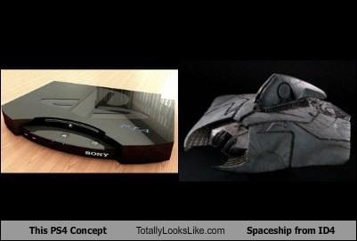This PS4 Concept Totally Looks Like Spaceship from ID4