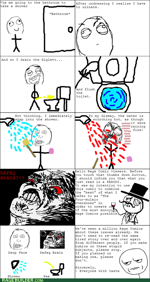 Another Hot Shower Rage!
