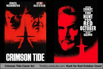 Crimson Tide Cover Art Totally Looks Like Hunt for Red October Cover