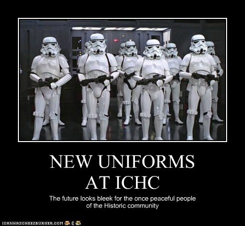 NEW UNIFORMS  AT ICHC