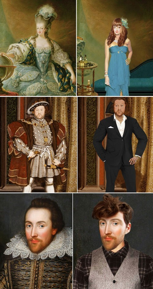 A New Perspective of the Day: Historical Figures Dressed in Contemporary Fashion