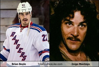 Brian Boyle Totally Looks Like Inigo Montoya