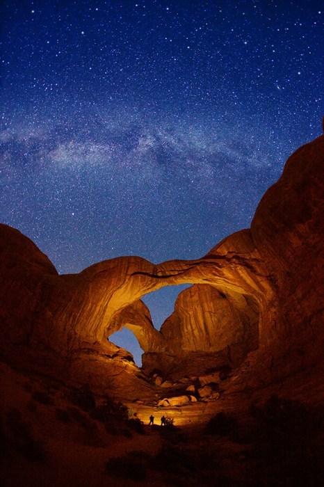 Night Falls on the Utah Canyons