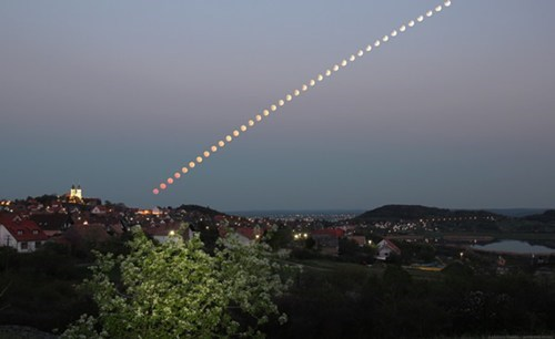 hungary,Astronomy,eclipse,time lapse,space