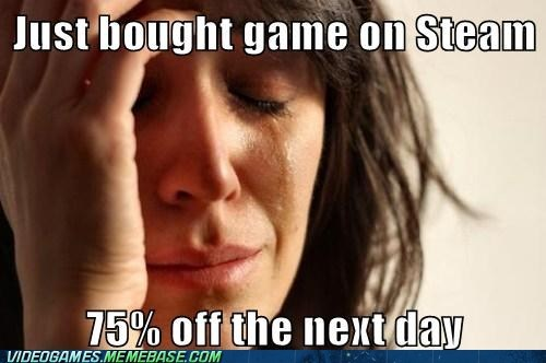 Those Steam sales....