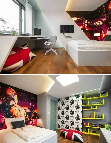 Room Design With Just a Dash of the Mandalorian