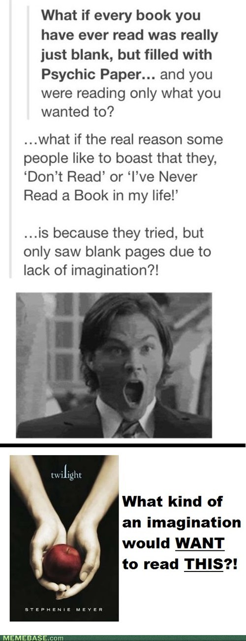Thats One Warped Imagination
