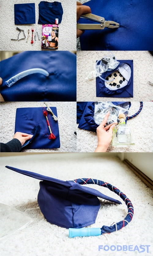 Make Your Graduation Better With a Hidden Flask!
