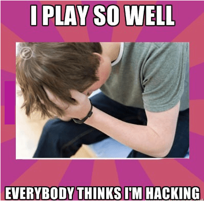 Good Gamer Problems