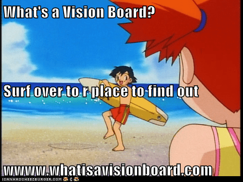 What's a Vision Board?  Surf over to r place to find out  wwww.whatisavisionboard.com