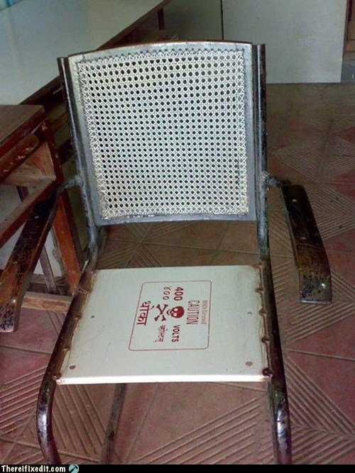 chair,funny,hot seat