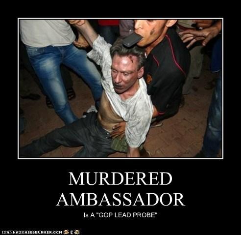 MURDERED AMBASSADOR