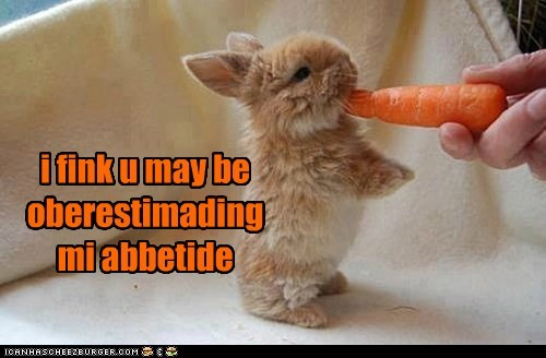 I'm a Big Bunny and I Need a Big Carrot