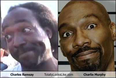 Charles Ramsey Totally Looks Like Charlie Murphy