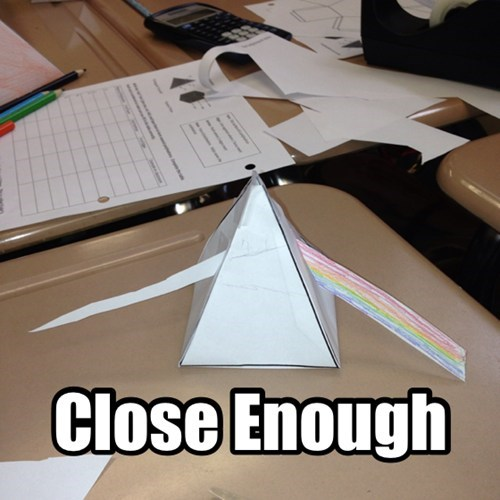Music,geometry,Dark Side of the Moon,pink floyd,papercraft,funny
