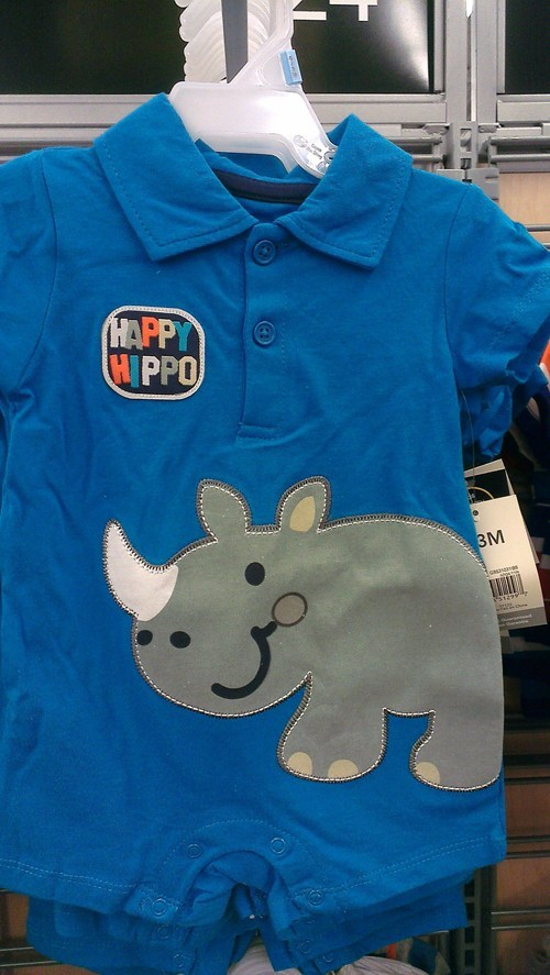 The Rare Horned Hippo?