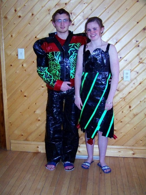 Duck Tape WIN: Prom Edition