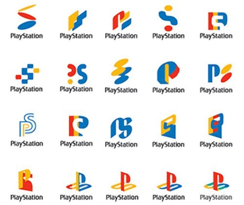 Some Rejected Playstation Logos