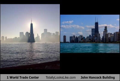 1 World Trade Center Totally Looks Like John Hancock Building