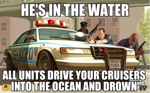 Some Amazing Grand Theft Auto Logic