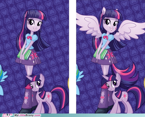 Equestria Girls Looks So Much Better Without the Pony Features