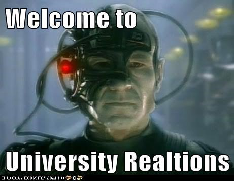 Welcome to  University Realtions