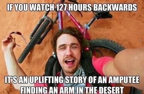 127 Hours,movies,james frando,funny