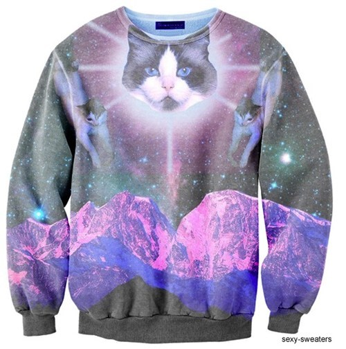 Hypno-Cat Blesses Your Leisure Wear