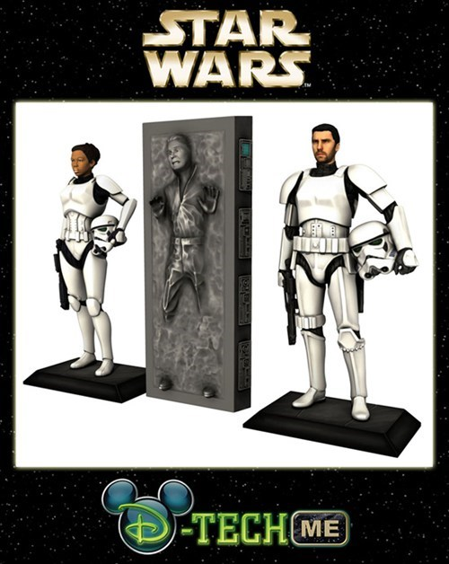 Cool 3D Print of the Day: Disney Offers $99 Personalized Stormtrooper 3D Prints